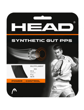 HEAD Synthetic Gut PPS 1.35 Black 12m