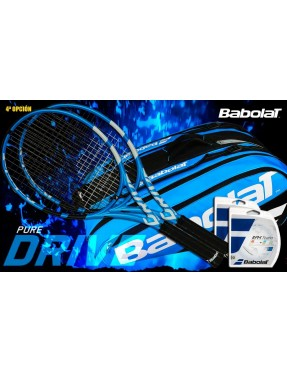 Pack Babolat Pure Drive 2017(II) + Raquetero Pure Drive