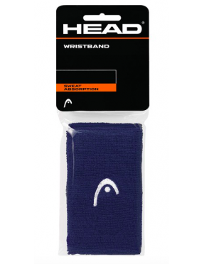 "HEAD Muñequera x2 - 5"" (Navy)"