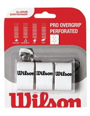 WILSON Pro Overgrip Perforated x3