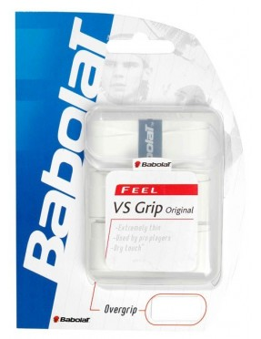 BABOLAT VS Grip Original x3 (Blanco)